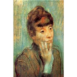 Edgar Degas - Portrait Of A Lady