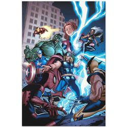 """Marvel Comics """"Marvel Adventures: The Avengers #31"""" Numbered Limited Edition Gic"""