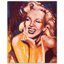 """Fun, Marilyn"" Limited Edition Giclee on Canvas by Stephen Fishwick, Numbered an"