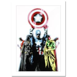 "Marvel Comics, ""Avengers #491"" Numbered Limited Edition Canvas by Jae Lee with C"