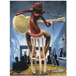 """Maxine"" Limited Edition Giclee on Canvas (27"" x 36"") by David Garibaldi, AP Num"