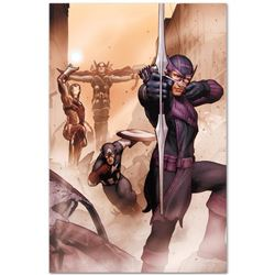 "Marvel Comics ""Avengers: Solo #1"" Numbered Limited Edition Giclee on Canvas by J"