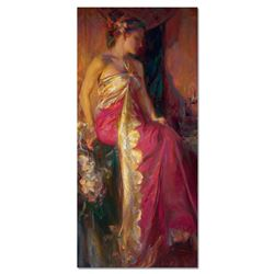 """Dan Gerhartz, """"Nouveau"""" Limited Edition on Canvas, Numbered and Hand Signed with"""
