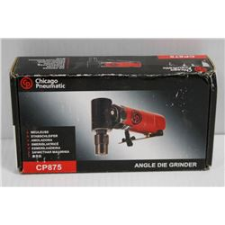 CHICAGO PNEUMATIC ANGLE DIE GRINDER AIR TOOL