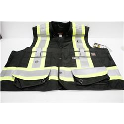 WORK KING SURVEYOR VEST; SIZE XL