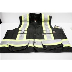 WORK KING SURVEYOR VEST; SIZE 2XL