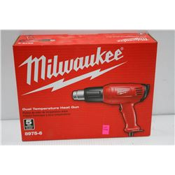 MILWAUKEE DUAL TEMPERATURE ELECTRIC HEAT GUN