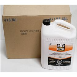 CASE OF 4 JUGS OF HD EXPERT ANTIFREEZE/COOLANT