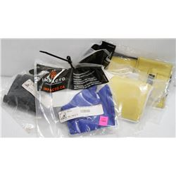 LOT OF 4 IMPACTO SPECIALTY SAFETY WEAR INCL