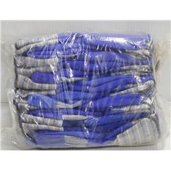 BUNDLE OF 12 WELDERS BLUE SHIELD GLOVES