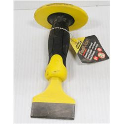 """STANLEY FAT MAX 2-3/4"""" MASONS CHISEL WITH GUARD"""