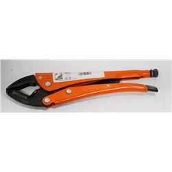 """GRIP-ON 12"""" LOCKING PLIERS CURVED JAW"""