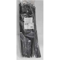 "100 PK OF 15.5"" BLACK CABLE TIES"