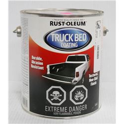 RUSTOLEUM 1 GALLON PAIL OF TRUCK BED COATING