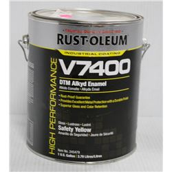 RUSTOLEUM 1 GALLON PAIL OF V7400 ALKYD ENAMEL
