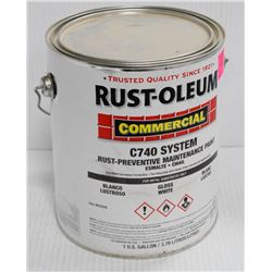 RUSTOLEUM 1 GALLON PAIL OF COMMERCIAL C740