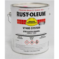 RUSTOLEUM 1 GALLON PAIL OF HIGH PREFORMANCE V7400