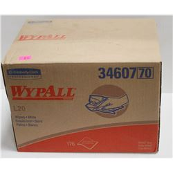 BOX OF 176 WYPALL WHITE WIPERS