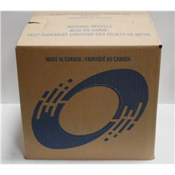 10LB BOX OF WHITE TERRY RAGS