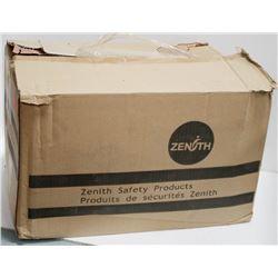 BOX OF 25 ZENITH MICRO POROUS COVERALLS; WHITE