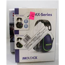 LOT OF 2 NEW SAFETY EARMUFFS; 3M OPTIME 101 &