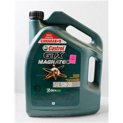 CASTROL 5L GTX MAGNATEC SAE 5W-20FULL SYNTHETIC