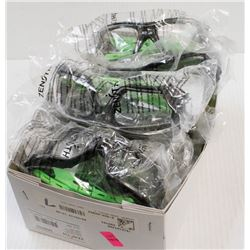 BOX OF 12 ASSORTED ZENITH  Z2500 SERIES SAFETY
