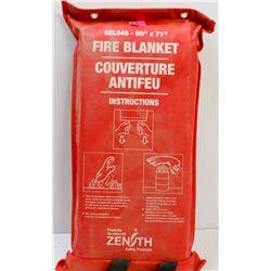 """ZENITH SEL048 60""""X71"""" FIRE BLANKET"""