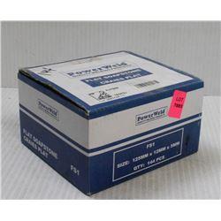 POWERWELD BOX OF 144PCS FS1 FLAT SOAPSTONE