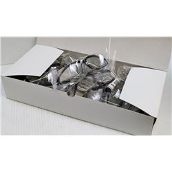 BOX OF 12 NEW ZENITH CLEAR LENS SAFETY GLASSES