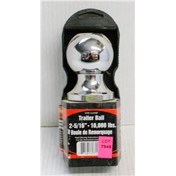 """NEW  TOWPRO TRAILER BALL, 2-5/16"""", RATED 10,000LBS"""