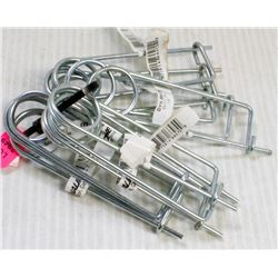 """BUNDLE OF 10 SAFETY PINS, 1/8"""""""