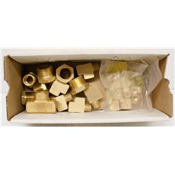 BOX OF 3/8 BRASS EXTRUDED STREET TEES