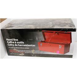 NEW 21 INCH STEEL HANDBOX