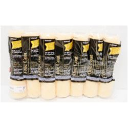 LOT OF 7 ONE COAT PAINT ROLLERS