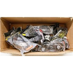 BOX OF ASSORTED EDGE SAFETY GLASSES