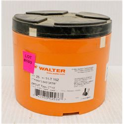 CASE OF 25 WALTER CUT-OFF WHEELS, DEPRESSED CENTRE