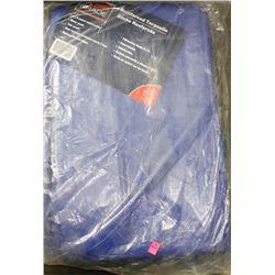 HEAVY DUTY BLUE TARP - APPROX 10FT X 20FT
