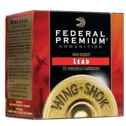 """New Federal 12 ga 3"""" 1 5/8 oz #5"""