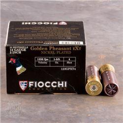 """New Fiocchi 12ga 3"""" 1 5/8oz #4"""