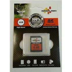 Max Flash 4 GB High Speed Memory Card