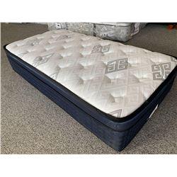 NEW Floor Model Ultra Thick Plush Twin Mattress