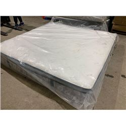 Floor Model Ultra Thick Chiro Pillow Top King Size Deluxe Mattress in bag