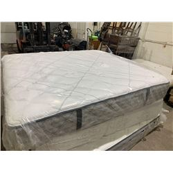 NEW Floor Model Firm tight top chiropractic King Mattress ( slight scuff of dirt on top)
