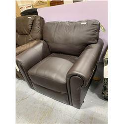 Leather Italia Genuine Leather Sofa Chair