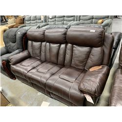 Triple Seat Reclining Sofa ( damage on arm)