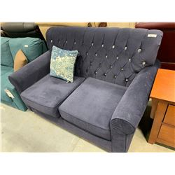Upholstered Micro Fiber 2 seat sofa ( dirty spots on arm)