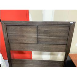 Wood Grain Double/Queen size Headboard