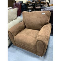 Hamilton Spill Tan Upholstered Sofa Chair