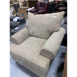 Twill Upholstered Occasional Chair
